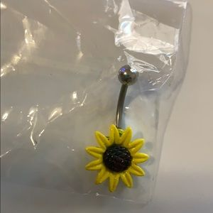 Sunflower 🌻 belly button ring